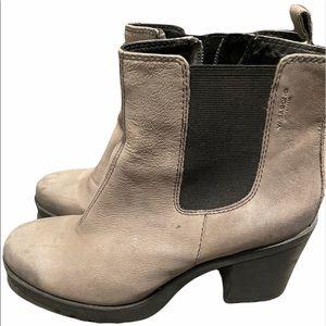 Vagabond leather boots size 8